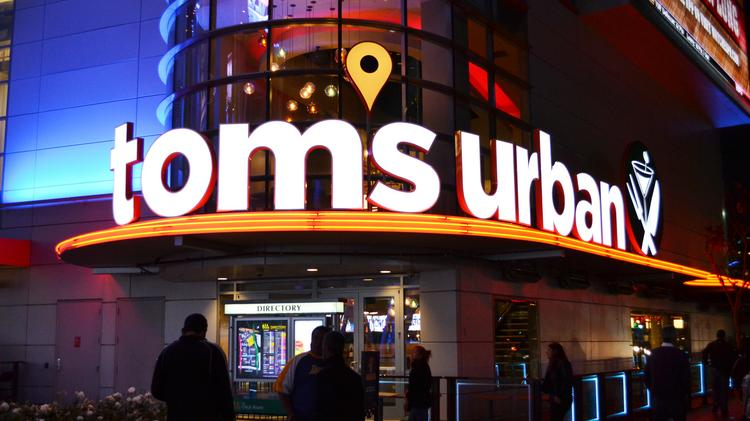 The Tom's Urban that opened in Los Angeles in February.