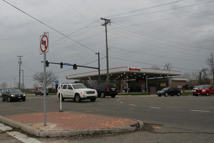 The intersection of Lyman Drive and Cemetery Drive is in line for new development. The McDonald's at the intersection is moving to the left of the Speedway in the photo.