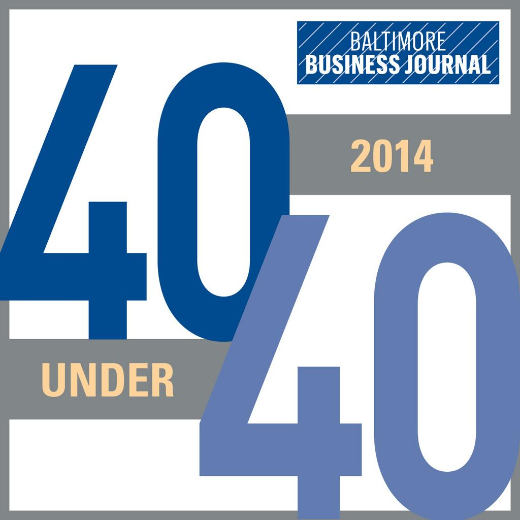 Baltimore Business Journal 40 Under 40