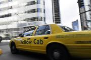 A Yellow Cab in Denver.