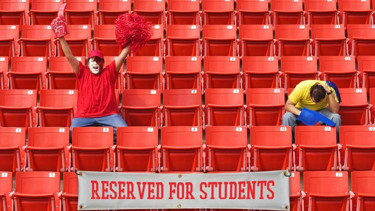 College football programs must do a better job getting students engaged.