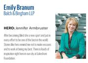 Branum, 36, is partner at Balch and co-chairs the firm's corporate and securities practice group, but also serves as counsel for a number of prominent Birmingham companies.   Click here to read the full profile