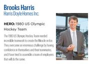 Harris, 38, is co-president at Harris Doyle Homes Inc., where he has been credited with a number of key achievements for the homebuilder. He managed the growth of the company from inception to more than $20 million in revenue, led a rebranding initiative and strategically acquired lots at below-market values to boost profit margins.   Click here to read the full profile