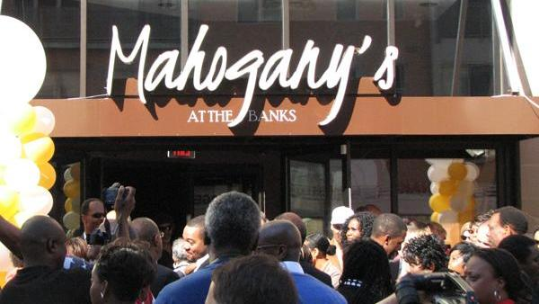 Mahogany's at the Banks will remain open past noon Thursday, according to a statement from the restaurant's attorney.