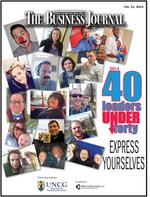 Slideshow: Meet the Triad's 2014 class of 40 Leaders Under Forty