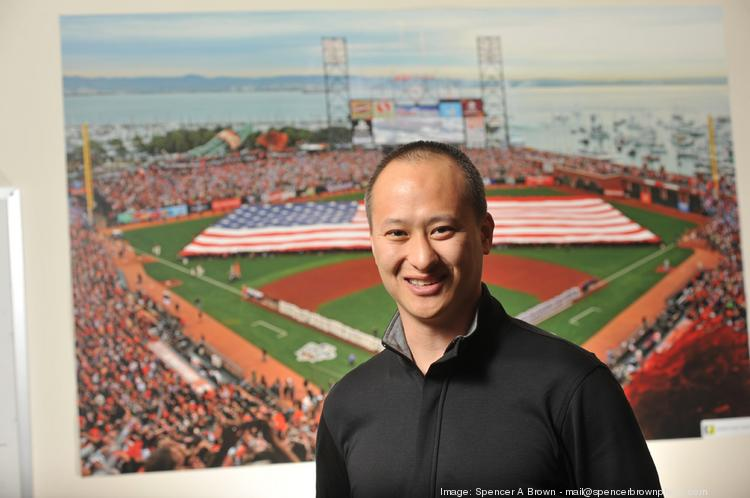 """YuChiang Cheng, CEO and co-founder of WGT, seeks deals with other sports leagues. """"If you can make these organizations succeed, they will help you grow."""""""