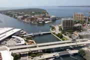 View out of the Skyway Advisors offices, looking on to the Hillsborough River