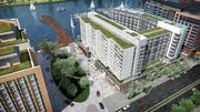 Phase One of The Wharf will include more than 600 apartments and 200 condos, plus office, a cultural venue and a hotel.