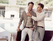 Banana Republic's new advertising campaign features a real-life same sex couple.
