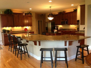 12568 Grandview Forest Drive: The kitchen features stainless steel appliances.