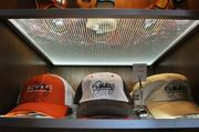 Diners are never far from sports memorabilia at Elway's Cherry Creek.