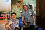From left, Mike Nagao, Michael Plunkett and Blair Cole of KONE Elevators and Escalators