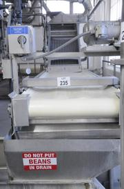 """More than 2,600 pieces of equipment will be auctioned off from the old Campbell Soup production plant on Franklin Road, starting Tuesday. A sign here says """"do not put beans in drain."""""""
