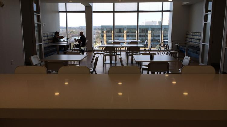 An inside look at the newly renovated space taken over by the Communication Service for the Deaf nonprofit at one of Silicon Laboratories Inc. buildings in Austin.