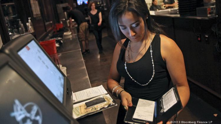 President Barack Obama and Democrats want to increase the federal minimum wage for tipped workers, such as servers at restaurants.
