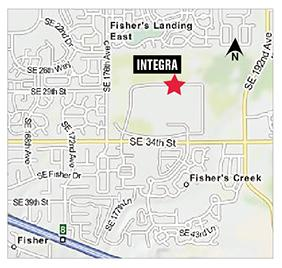 Integra will move its headquarters next year to a 85,000-square-foot building on a former Hewlett-Packard Co. campus in Vancouver, Wash.