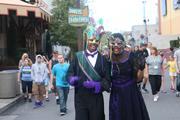 Purple and green is always a classic Mardi Gras color.