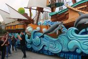 Creative development and show director for Universal Orlando Patrick Braillard talks a bit about the boat float called The Lissa.