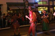 """Cowboys at Mardi Gras solidify the """"Around the World in 80 Days"""" theme."""