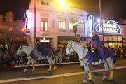 You can't have a parade without horses.