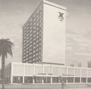 The Hilton Inn in Tallahassee, Fla., one of the early projects designed by Bennett & Pless
