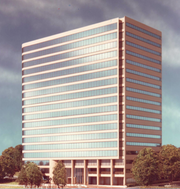 The Galleria 100 building in Atlanta, another of Bennett & Pless's projects.