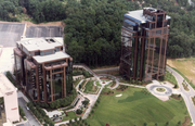 Crown Pointe office buildings, Dunwoody, Ga., a project of Bennett & Pless.