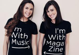 Brittany Hodak (right) had worked with Kim Kaupe at an advertising agency she made a