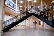 Just up the the grand staircase lies the second tech renovation.