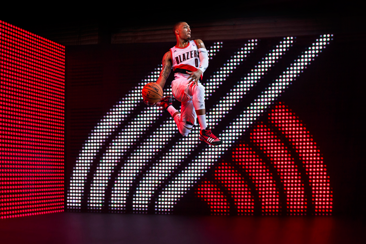 Portland Trail Blazers guard Damian Lillard could opt out of his Adidas footwear contract at the end of the season, according to a report by CSNNW.com.