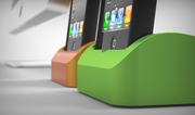 1) Elevation Dock: $1,464,706 - 1,952% of goal  Funded Feb. 11, 2012 on Kickstarter in the product design category.  An iPhone dock made from solid aluminum.