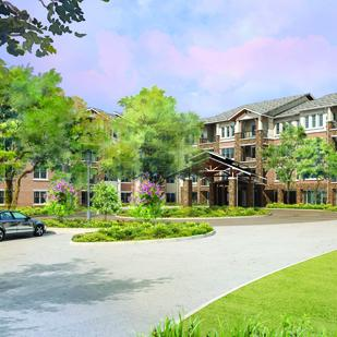 The 103-room Pinnacle is the centerpiece of EdenHill Communities' campus renovation and expansion.
