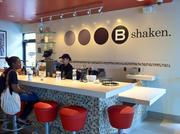 'Shakers' mix hand-spun shakes for customers.