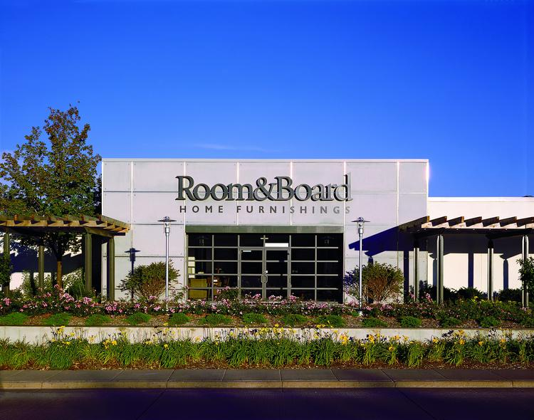 Room & Board's Edina store (shown) is one of its 12 retail locations nationwide. The company is growing and plans to double the size of its distribution center in Rogers.