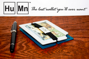 """4) The HuMn Wallet: $295,402 - 447% of goal  Funded Apr. 2, 2012 on Kickstarter in the design category.  """"A modern minimalist wallet that blocks RFID signals while keeping your money, credit cards, and business cards organized and secure."""""""