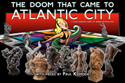 14) The Doom That Came To Atlantic City!: $122,874 - 351% of goal  Funded June 6, 2012 on Kickstarter in the tabletop games category.  A game of 'urban destruction,' for two to four players.