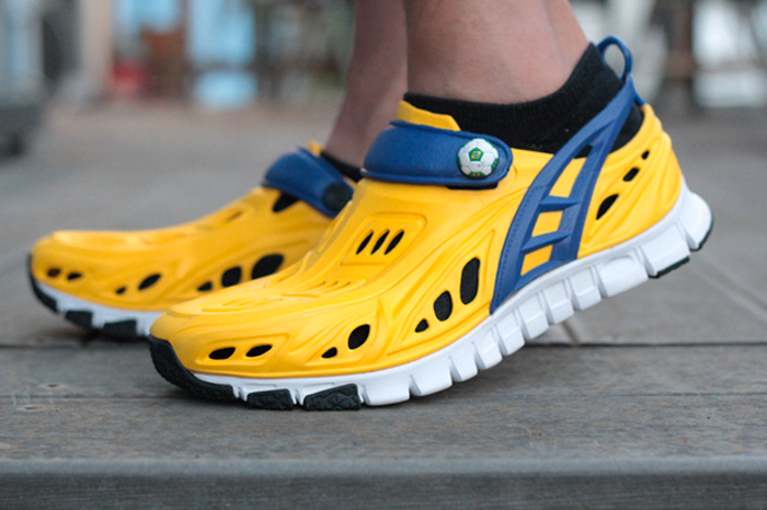 21) Crosskix II: $99,235* - 496% of goal  Funded May 7, 2013 on Kickstarter in the fashion category.  A soft foam composite shoe for multiple uses, including exercise.  *Not quite $100,000, but close enough.