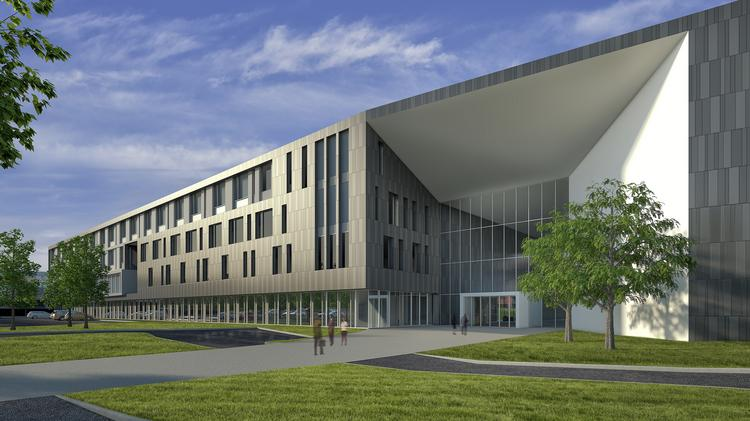 Burns & McDonnell plans a $231.8 million project to expand its headquarters and put a new building on a site now occupied by the former home of Congregation Beth Shalom.