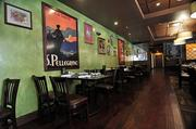 The dining room in Johnny's. The casual Italian restaurant is named for its chef and co-owner, John Mallozzi.