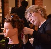 Student Janice Clavet, 49, of Clifton Park, said she could not afford college when she graduated from high school. After working as a bookkeeper while raising her family, she decided she wanted to become a stylist.