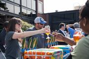 SweetWater Brewing Co. celebrated its 17th anniversary Feb. 23 by busting out a Saison style ale, new cans of brew and naming the complete lineup for its 10th SweetWater 420 Festival.