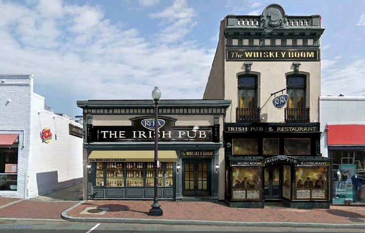 A view of what the old Mie 'n' Yu building will look like as Rí Rá Irish Pub, which is expected to open this fall.