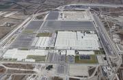 An aerial view of the Honda de Mexico auto plant that opened Feb. 21 in Celaya. The automaker secured plenty of land for an expansion as well.
