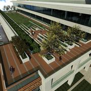 The University of Miami Health System's Coral Gables facility will feature a rooftop garden.