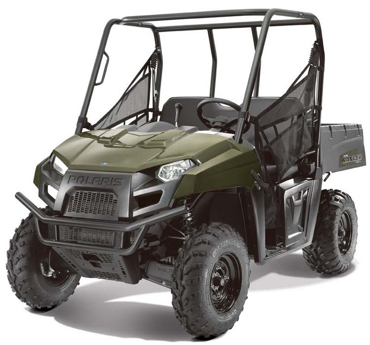 Polaris is recalling Ranger 500 EFI off-road vehicles, including the Crew variant (next photo), due to a crash hazard.