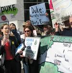 Duke Energy meeting draws protests to Charlotte