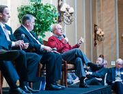 Nashville Area Chamber of Commerce CEO Ralph Schulz responds to a question Tuesday at the Nashville Ahead panel.