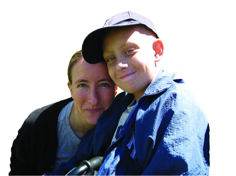 Nancy Goodman with her son, Jacob Froman, who died five years ago from a rare brain cancer. She formed Kids v. Cancer, a Washington, D.C., nonprofit that shepherded through Congress legislation that gives a drug developer a voucher for accelerated FDA review of an application for drug approval in exchange for creating a drug for a rare childhood disease.
