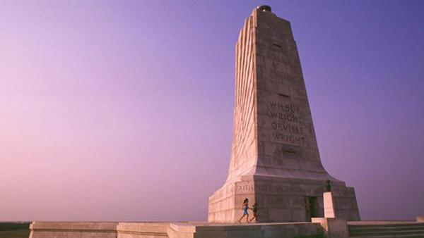 The Wright Brothers National Memorial in Kill Devil Hills, N.C.
