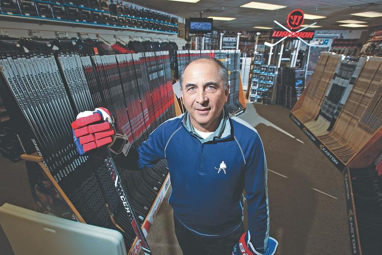 Tom Farkas is the co-founder and president of Great Skate on Sheridan Drive, but running the business is a family affair.